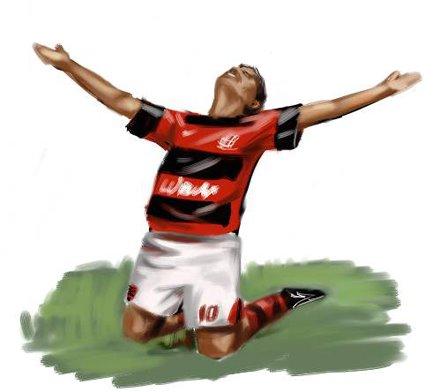 Gol do Flamengo. Gol da Torcida.