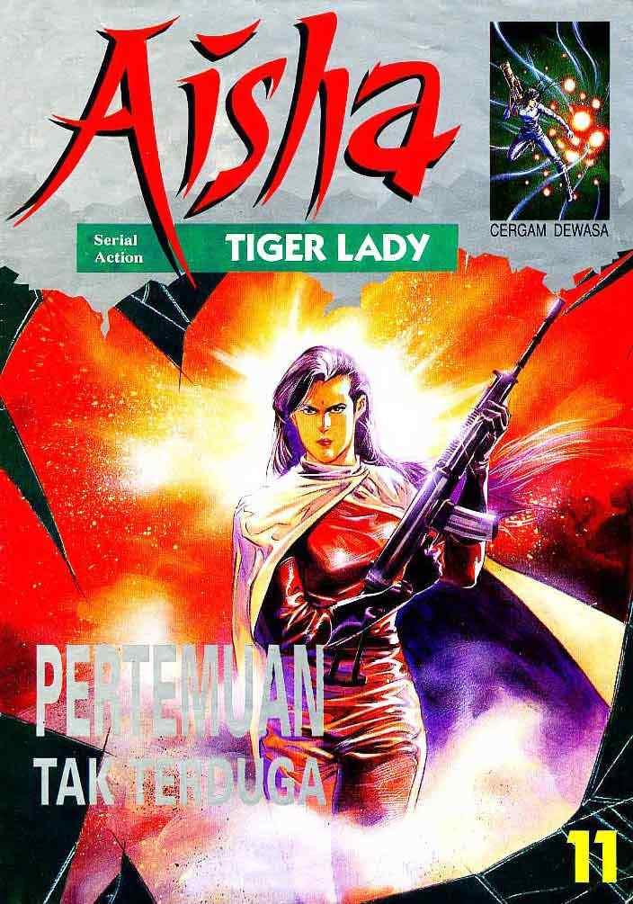 Aisha Tiger Lady - DVD Komik Action Bahasa Indonesia