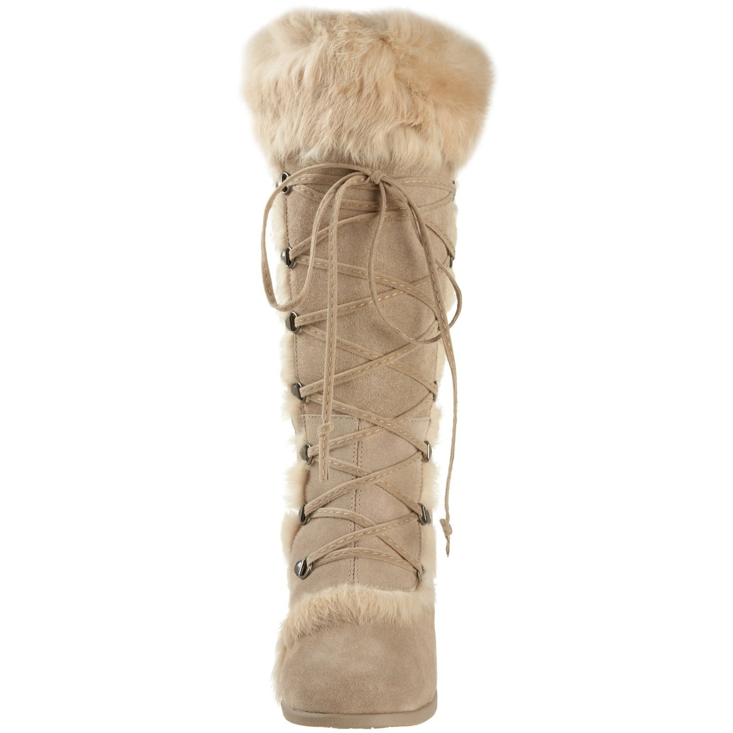 BEARPAW's goal is to provide comfortable, fashionable footwear and make shoes affordable for everyone. BEARPAW boots, shoes and slippers feature top-notch materials such as shearling and suede, producing a focus on quality that results in unsurpassed comfort and style every time.