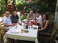 Steven, Miranda, Ralph, Alex, Caroline