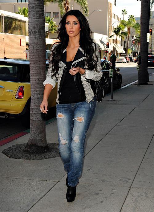Couture Rehab Street Style Kim K