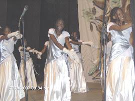 """COREOGRAFIA """"Grupo Serafins"""" (Adorando com dança)"""