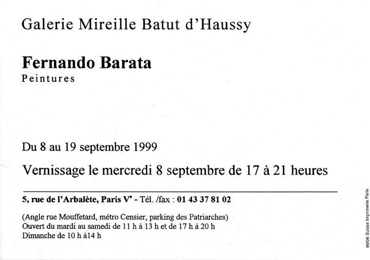 Galerie Mireille Batut d'Haussy