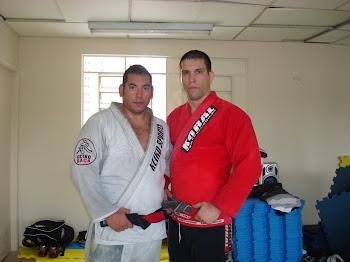 Mestre Claudio Godoy e Professor Pedro Salvio