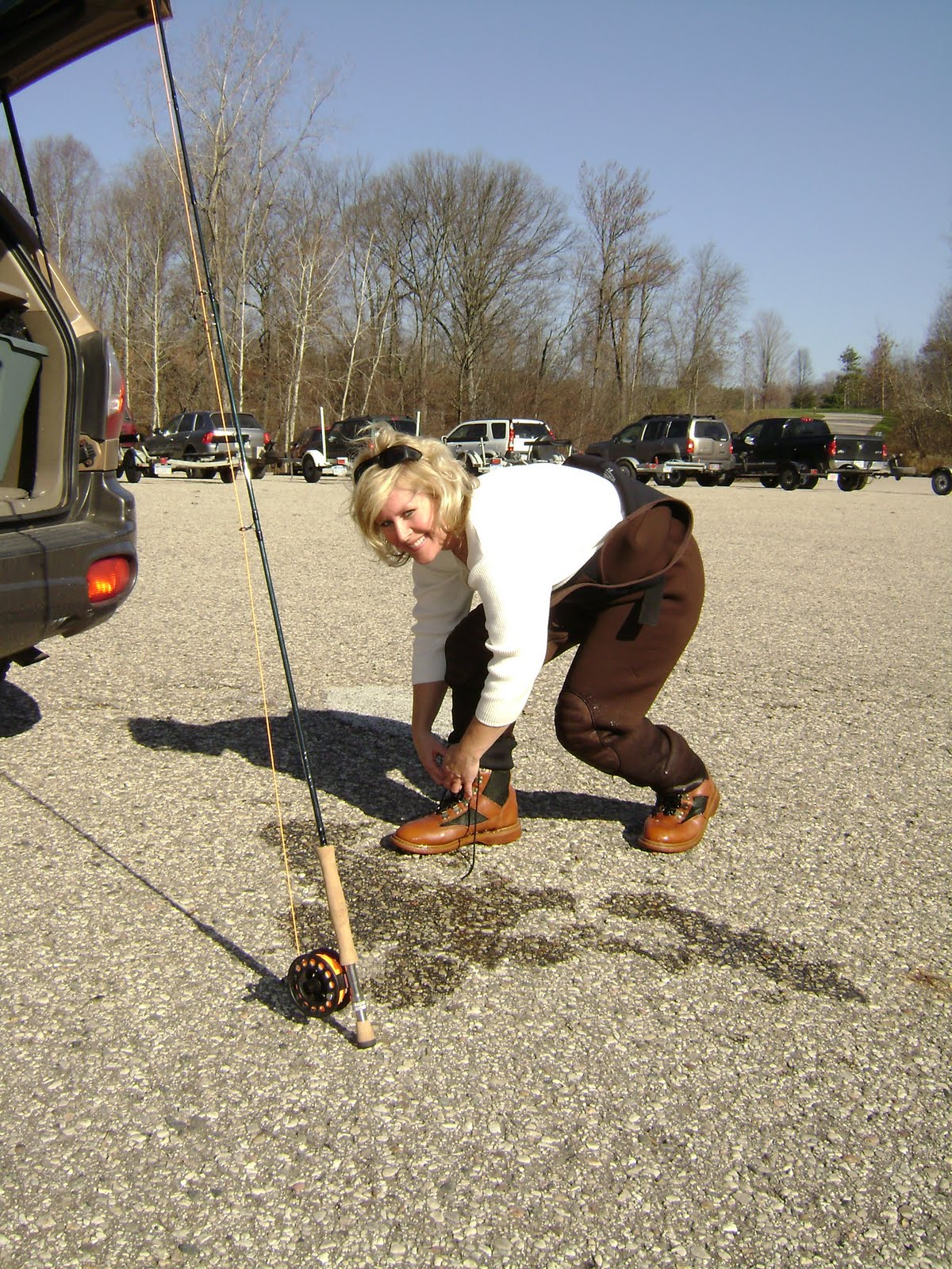 Tips on how to care for your fly fishing gear after for Fly fishing equipment