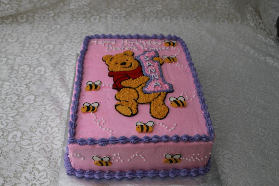 Cake Design Winnie The Pooh : DHANYA S DELIGHTS: Winnie the Pooh Cakes