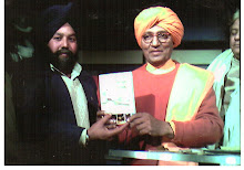Swami Agnivesh ji with the Book