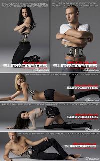 """sur2 - Nuevos pósters de """"Surrogates""""."""