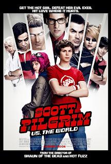 scott pilgrim official movie poster - Scott Pilgrim, la pelicula más geek para geeks.