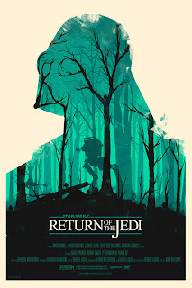 Olly Moss Return of Jedi - Póster de Star Wars, versión Olly Moss