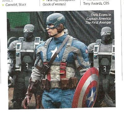 hpqscan0002 - Imagen del Capitán América, con traje y escudo.