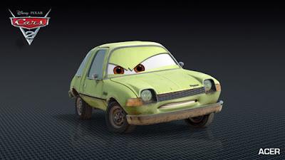 imagen galeria Acer - Los nuevos personaje de Cars 2