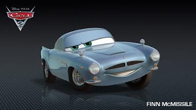 imagen galeriacars finn2 0 - Los nuevos personaje de Cars 2