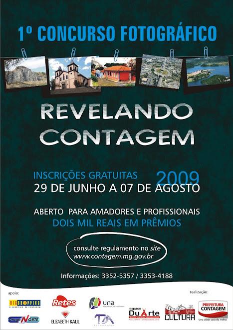 """1º Concurso de Fotografia """"Revelando Contagem"""""""
