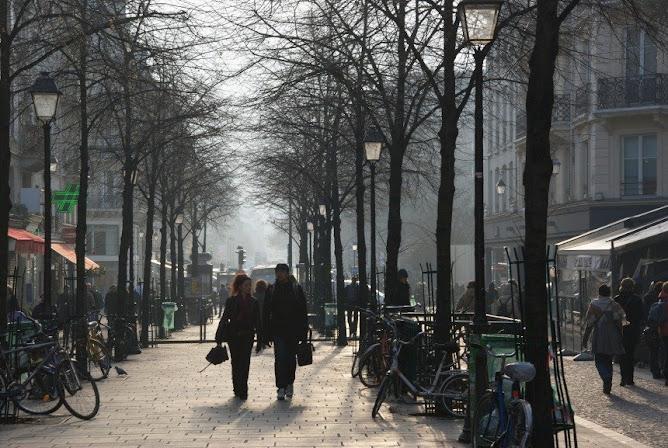 Lumières de Paris: contre-jour