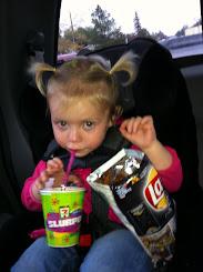 Slurpee & BBQ Chips!