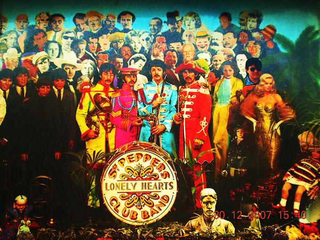 estoy escuchando a los Beatles
