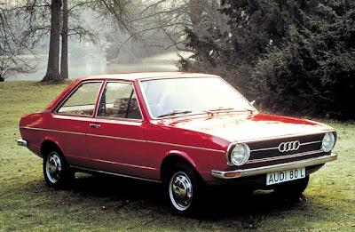 Audi 80, carro que originou o Passat brasileiro