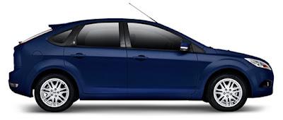 Lateral do Novo Ford Focus
