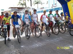 Ciclistas de todo o Nordeste brasileiro