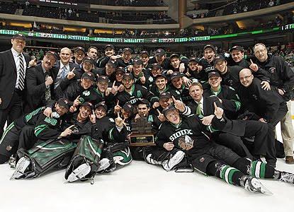 2010 WCHA Final Five Champions