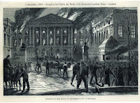 Brand Brussels natiepaleis 1883 (foto Londen Illustrated 15-12-1883)