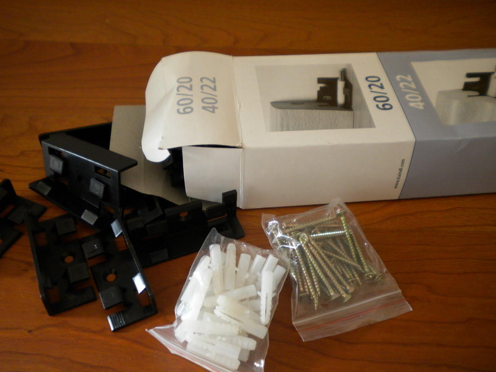 Clip montaggio battiscopa lamin kaindl 30pz tasselli ebay - Battiscopa per cucina ...