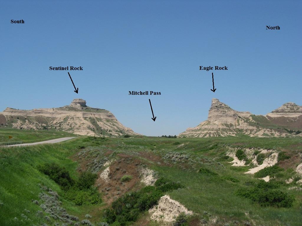 Scottsbluff Nebraska oregon trail North platte river