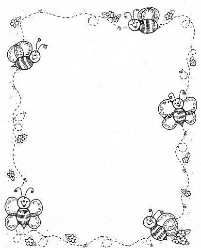 Decoración para el borde d cuadernos - Imagui