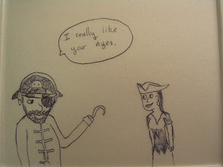One pirate to another: I really like your ayes.