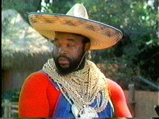 Mr. T with a sombrero. How can you go wrong?