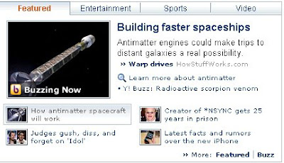 There's a space probe joke here somewhere...