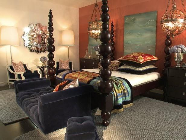 My forgotten favorite the orange blues for David bromstad bedroom designs
