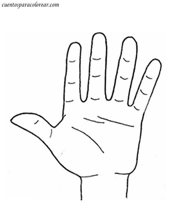 Dibujos de los cinco sentidos para colorear - Imagui