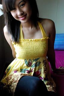 gambar Miera Leyana nampak payudara