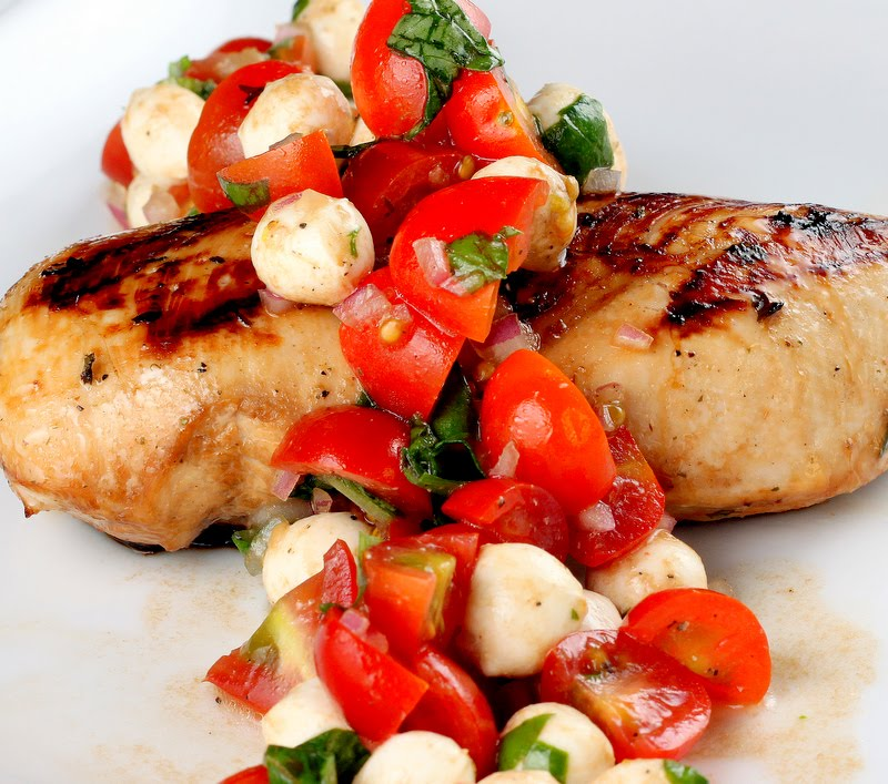 Sugar Cooking: Caprese Chicken & My Go-To Chicken Marinade