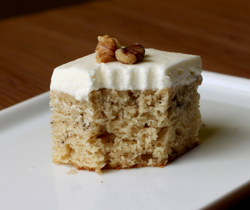 Sugar Cooking: Banana Bars 2 Ways: Peanut Cream Cheese Frosting ...