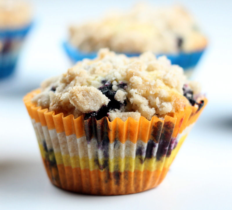 Sugar Cooking: Blueberry Muffins with a No Fail Streusel ...