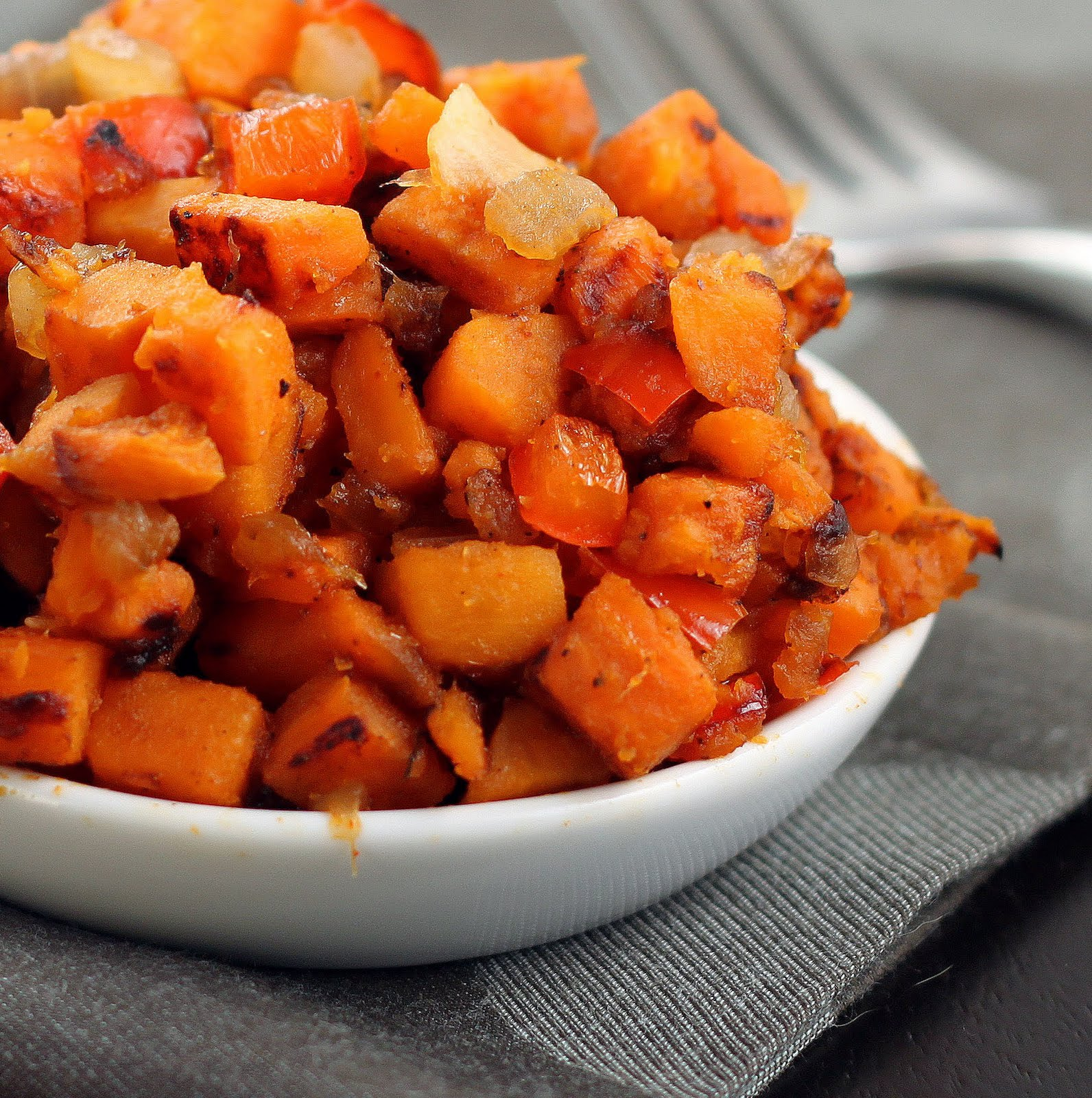 Sugar Cooking: Spicy Sweet Potato Hash