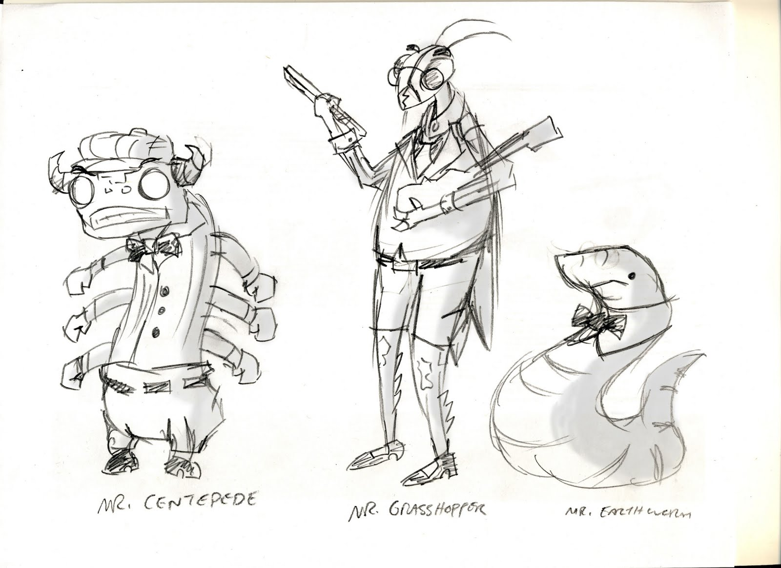 how to draw roald dahl characters step by step