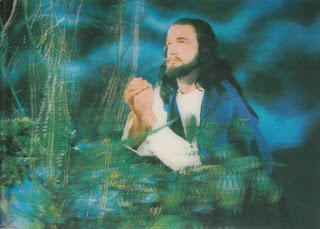 3D Jesus Postcard