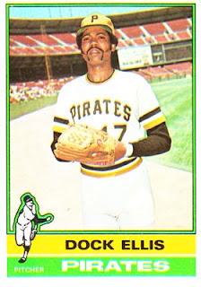 One of Keith's Dock Ellis cards - 1975