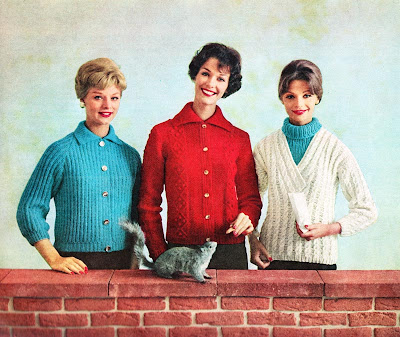 knits with squirrel ad - 1959-60