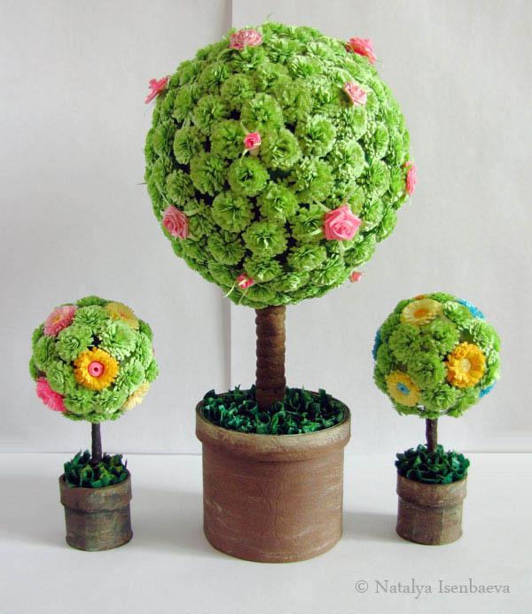 Дерево счастья. как рисовать цветы.  Без заголовка 321.