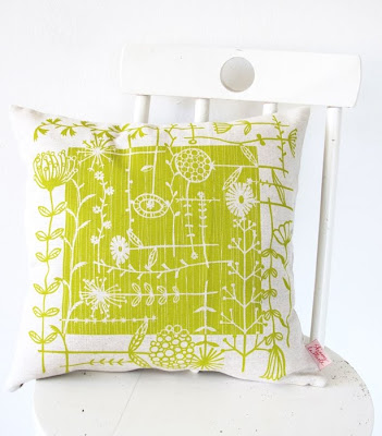 Heather Moore's Skinny laMinx cushion