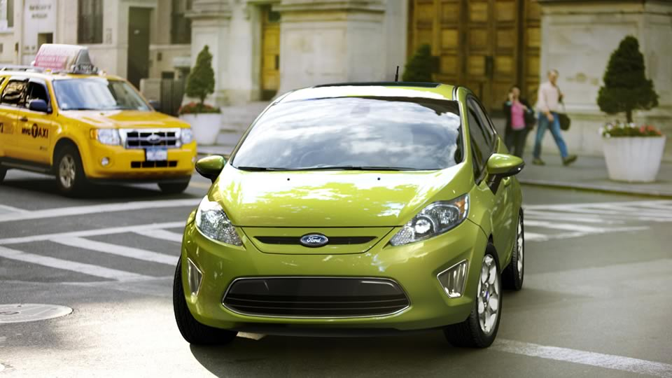 ford fiesta 2011. Ford Fiesta 2011 is a 4-door,