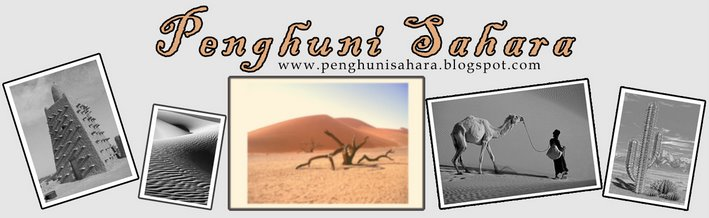 penghuni sahara
