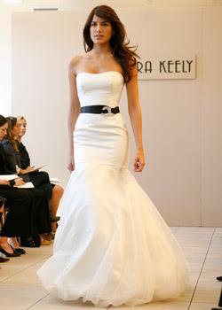 Black  White Maxi Dress on Black And White Wedding Dresses Is Our Choice Of The Month January