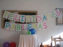 Felicidades Pableras