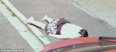 Google Street View, dead body on google maps, child corpse on google street view, Diana Topan, Photography News, photography-news.com, photo news, dead body photo, girl body google maps